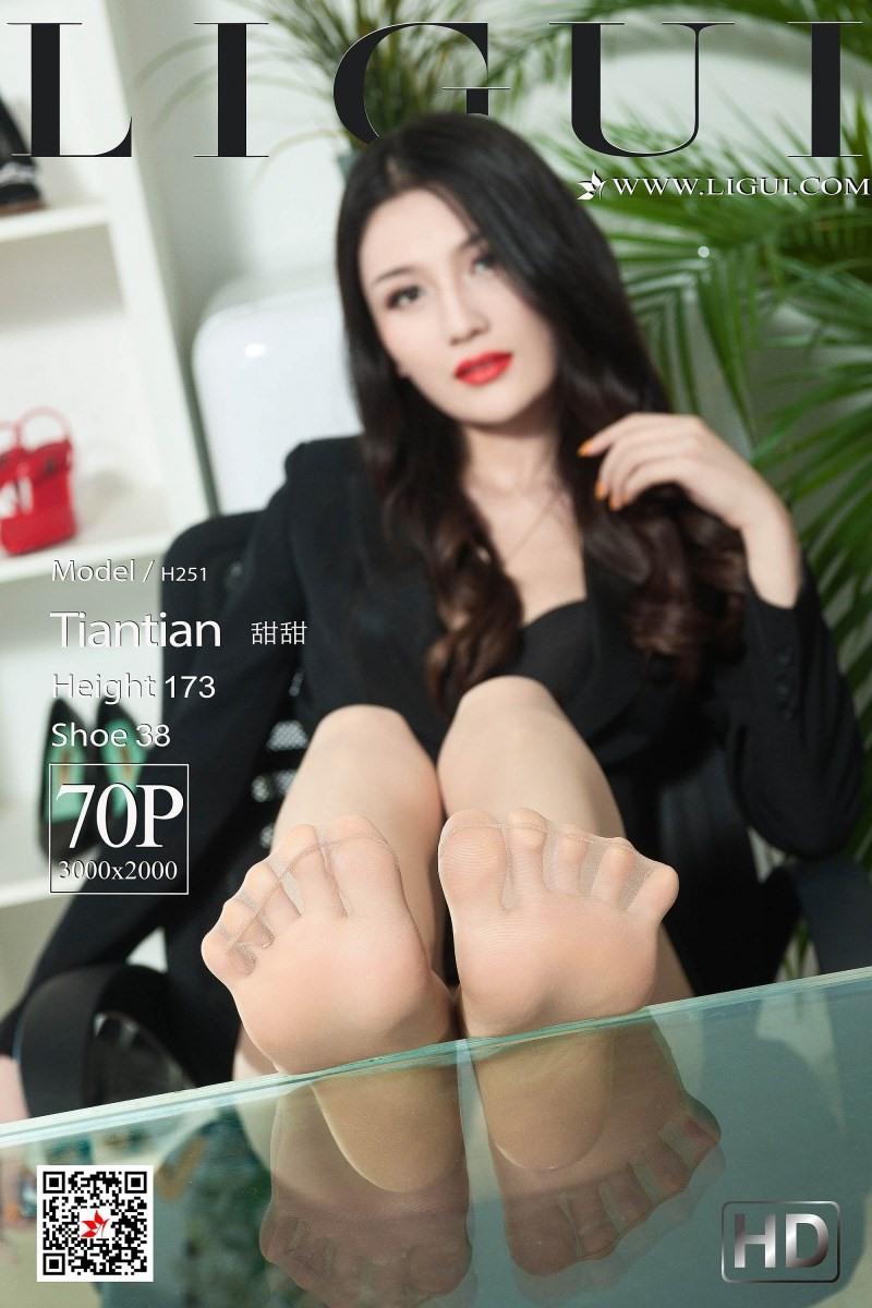 [Ligui丽柜]2019.05.15 Model 《职场新秀》-甜甜[70+1P/63.8M]